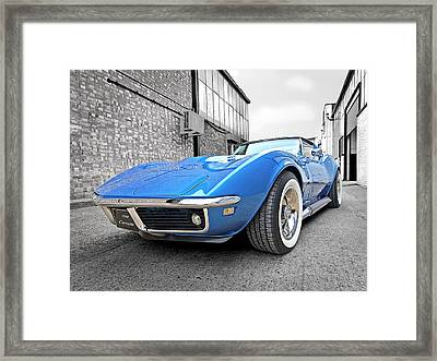 Style In The Back Streets Framed Print by Gill Billington