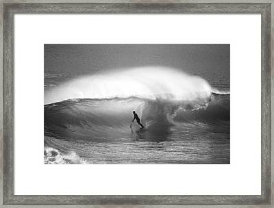 Style Master Framed Print by Sean Davey
