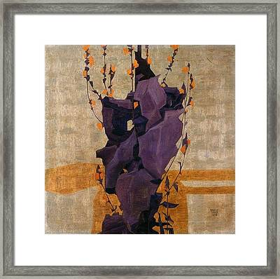 Stylized Flowers Framed Print by Celestial Images