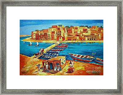 Suakin 41 Framed Print by Mohamed Fadul