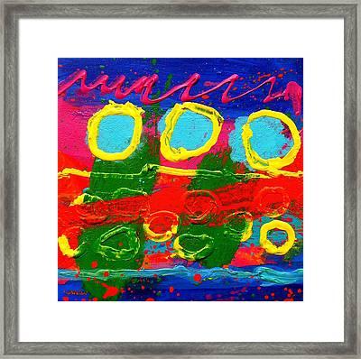Sub Aqua IIi - Triptych Framed Print by John  Nolan