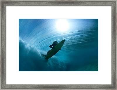 Sub Stellar Framed Print by Sean Davey