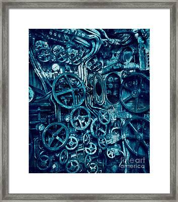 Submarine Control Room  Framed Print by Igor Kislev