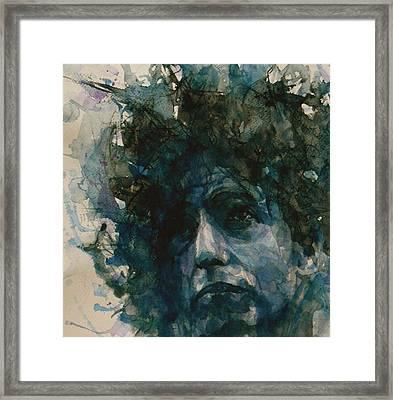 Subterranean Homesick Blues  Framed Print by Paul Lovering