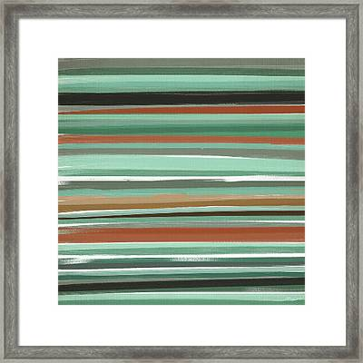 Subtle And Balance Framed Print by Lourry Legarde