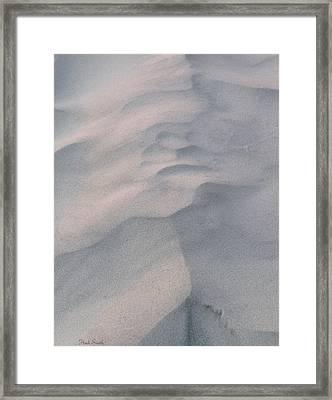 Subtle Framed Print by Heidi Smith