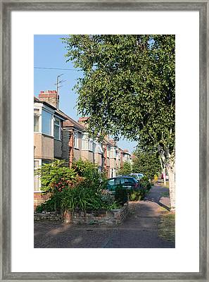 Suburban England Framed Print by Tom Gowanlock