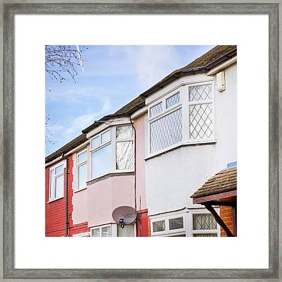 Suburban Homes Framed Print by Tom Gowanlock