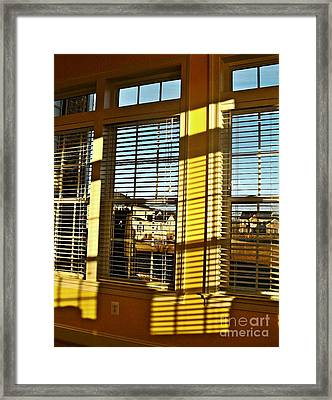 Suburbia Usa Framed Print by Sarah Loft