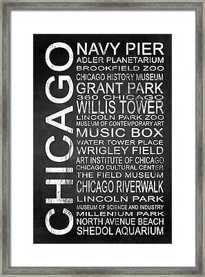 Subway Chicago 1 Framed Print by Melissa Smith