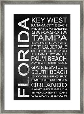 Subway Florida State 3 Framed Print by Melissa Smith
