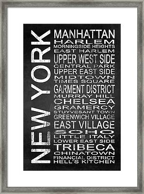 Subway New York 2 Framed Print by Melissa Smith