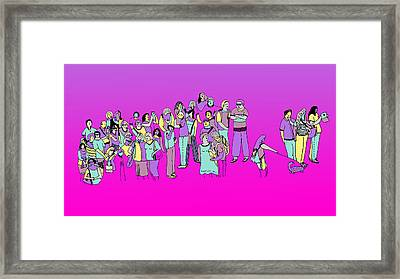Suceso Framed Print by Lino Divas