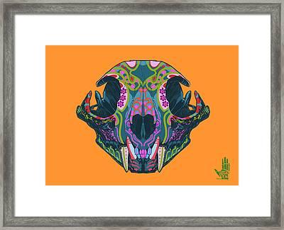 Sugar Lynx  Framed Print by Nelson dedos Garcia