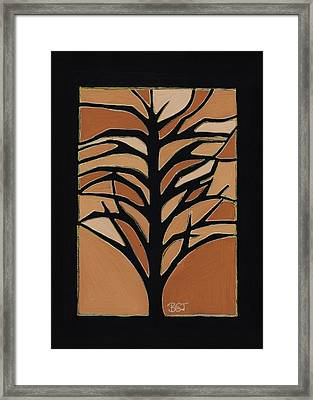 Sugar Maple Framed Print by Barbara St Jean
