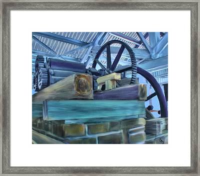 Sugar Mill Gizmo Framed Print by Deborah Boyd