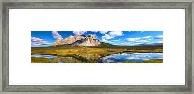 Sukakpak Reflection Framed Print by Chad Dutson