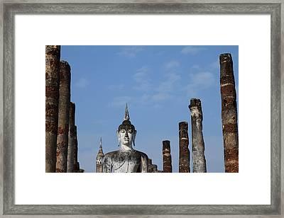 Sukhothai Historical Park - Sukhothai Thailand - 011338 Framed Print by DC Photographer