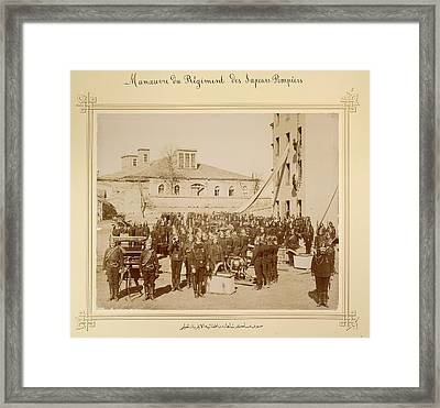 Sultan Abdul Hamid II Collection Framed Print by British Library