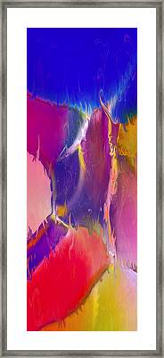 Sultry Movement Framed Print by Omaste Witkowski