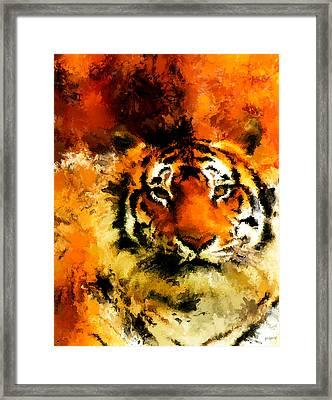 Sumatran Framed Print by Lourry Legarde