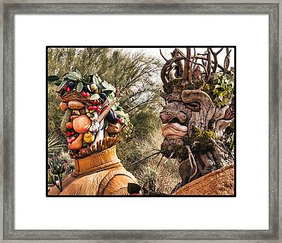 Summer And Winter Framed Print by Diane Wood
