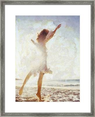 Summer As It Should Be Framed Print by Gun Legler