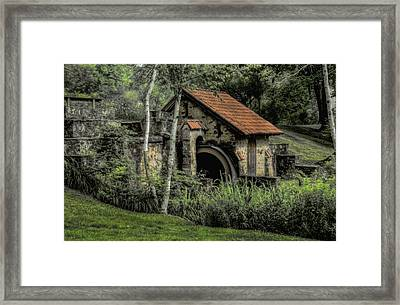 Summer At Eastern College - Radnor Pa Framed Print by Bill Cannon