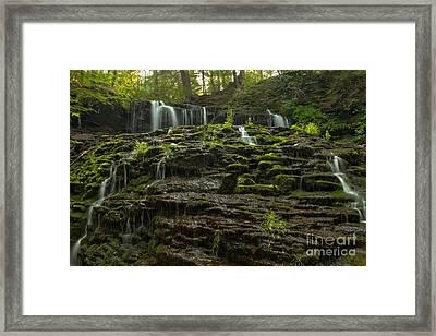 Summer At Mohawk Falls Framed Print by Adam Jewell