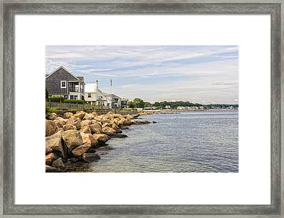 Summer At The Shore Framed Print by Marianne Campolongo
