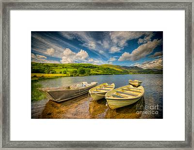 Summer Boating Framed Print by Adrian Evans
