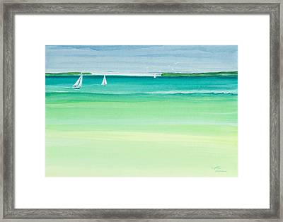 Summer Breeze Framed Print by Michelle Wiarda