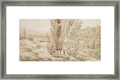 Summer Framed Print by Caspar David Friedrich