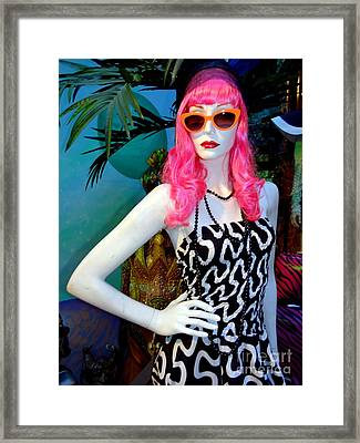 Summer Chic Framed Print by Ed Weidman