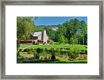 Summer Cottage Framed Print by Frozen in Time Fine Art Photography