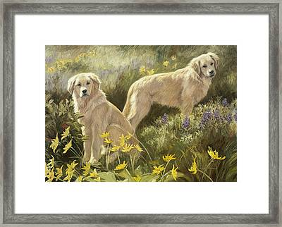 Summer Day Framed Print by Lucie Bilodeau