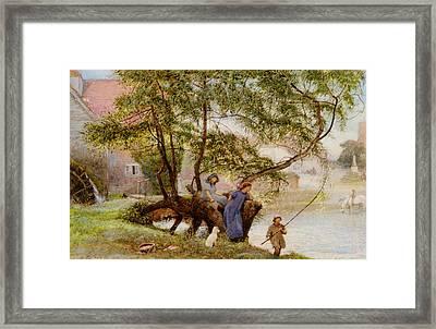 Summer Day Framed Print by Robert Walker Macbeth