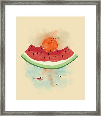 Summer Delight Framed Print by Neelanjana  Bandyopadhyay
