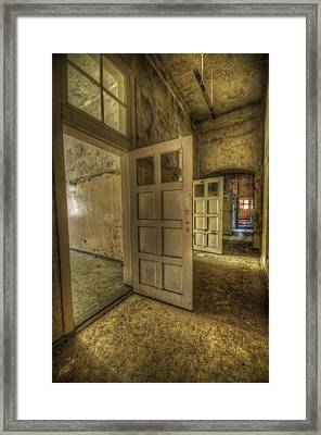 Summer Doors Framed Print by Nathan Wright