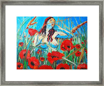 Summer Dream 1 Framed Print by Ana Maria Edulescu
