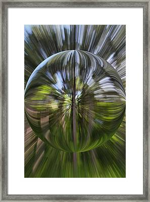 Summer Explosion Orb Framed Print by Dan Sproul