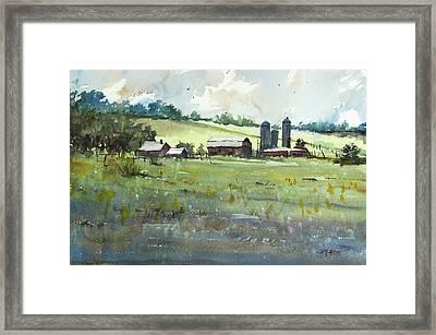 Summer Fields Framed Print by Ryan Radke