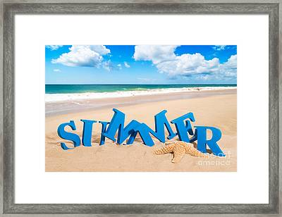 Summer Fun Framed Print by Amanda And Christopher Elwell