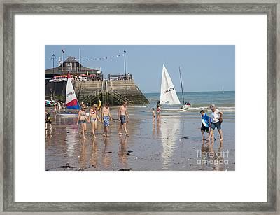 Summer Fun Framed Print by Donald Davis