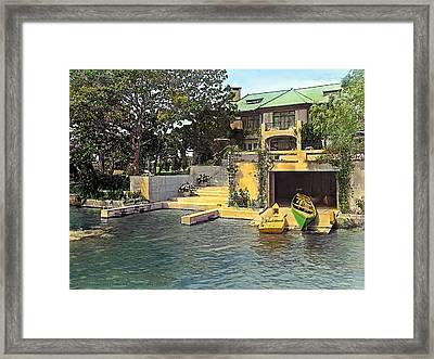 Summer Home Framed Print by Terry Reynoldson