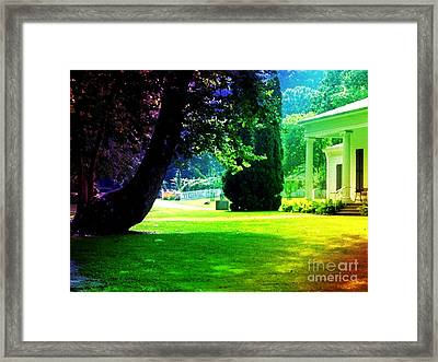 Summer House Framed Print by Michelle Stradford