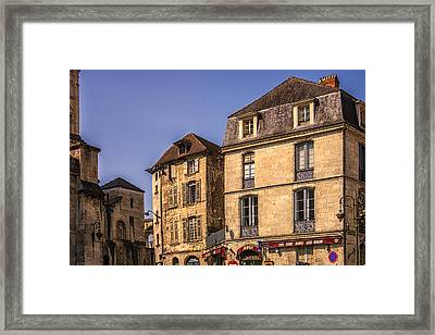 Summer In Perigueux Framed Print by Georgia Fowler