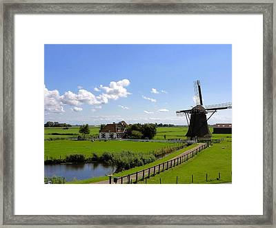 Summer In The Netherlands Framed Print by Mountain Dreams