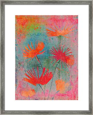 Summer Joy - 44bb Framed Print by Variance Collections