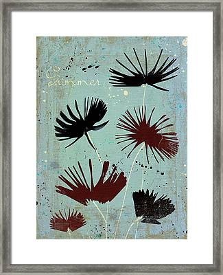 Summer Joy - 91bb Framed Print by Variance Collections